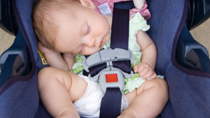 Her baby died minutes after she put her in a car seat, I had no idea ...