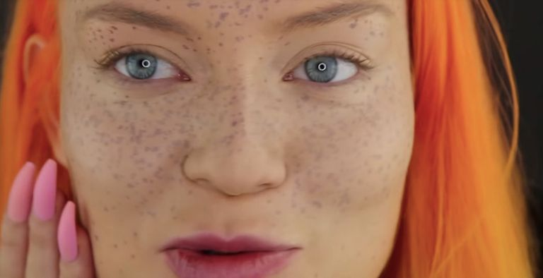 Youtuber Tries To Give Herself Henna Freckles And It Went Downhill